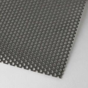 Aluminium Lochblech Rv 5-8 / 1,0mm Stärke Alu Lochblech Tafel Zuschnitt nach Maß