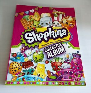 Shopkins Card Album with Assorted Cards Season 1 - Incomplete Set