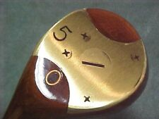 Left Hand LH PERSIMMON Toney Penna Refinish Golf Club 5 Wood New Tour Wrap Grip