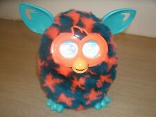 Furby Boom Fully working Orange stars and sea green 2012-13 with BATTERIES! INC