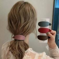 Fashion Women Banana Clip Hairpin Clips Catch Girls Ponytail Hair Accessories