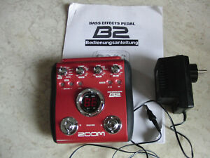 Zoom B2 Bass Multi Effekt Modeller + Cool Tune Guitar Tuner GT-7