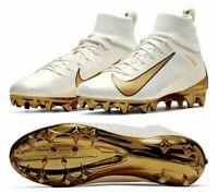 Nike Vapor Untouchable Pro 3 Gold Premium Size 13 Football Cleats AQ0634-007 NEW