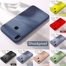 For Samsung A20e A30 A50 A70 Shockproof Matte Soft Silicone TPU Phone Case Cover