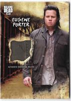 Walking Dead Road to Alexandria Costume Wardrobe Relic Card Eugene Porter R-EP