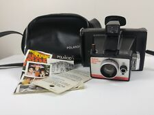 Polaroid Land Camera Super Shooter Plus - Tested & Works + Manual Bag Cold Clips
