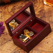 Rectangle Wood Jewelry Wind Up Music Box : ♫ Silent Night ♫