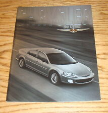 Original 2001 Chrysler Sebring Deluxe Sales Brochure 01