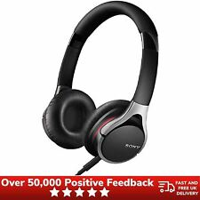 Sony Overhead Folding Headphones Lightweight MDR-10RC Stereo Wired - Black
