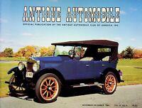 Antique Automobile Magazine Nov/Dec 1986 The Beginning of the Allard m1152