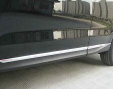 Chrome door Side Molding Trim Chrome For Subaru Forester 2013 2014