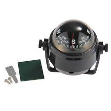 Kompass Kugelkompass Compass Bootskompass Schwarz KFZ Navigation & LED Licht GY