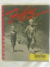 RARE VINTAGE 1947 SOUTH BEND FISHING TACKLE CATALOG- IN EXCELLENT USED CONDITION