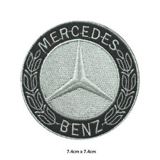 Mercedes Benz Car Brand Racing Logo Embroidered Patch Iron on Sew On Badge