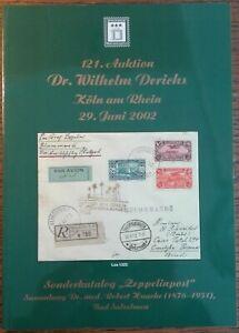 """Sonderkatalog """"Zeppelinpost"""" - Sammlung Dr. Robert Haacke Bad Salzelmen"""