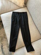 ~ Brooks Brothers Boys Black Wool Tuxedo Formal Pants Size 8 ~