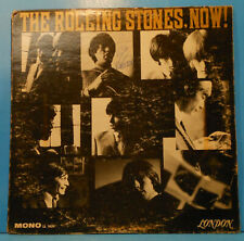 THE ROLLING STONES, NOW! LP 1965 MONO UNBOXED UNCENSORED NICE CONDITION! G+/VG!!