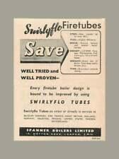 1948 Spanner Boilers Ltd Swirlyflo Tubes, Often Road London