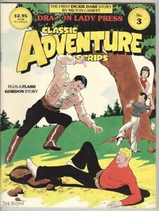 Classic Adventure Strips #3 September 1985 FN 1st Caniff Dickie Dare, Flash Gord