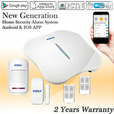 KERUI Wireless W1 IOS /Android APP Control WiFi PSTN Home Alarm System Security