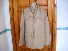 Mens beige NIAMA MAN CONBIPEL casual jacket size XL vgc
