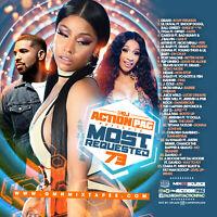 DJ ACTION PAC - MOST REQUESTED 73 (MIX CD) DRAKE, CARDI B, 6IX 9INE, NICKI MINAJ