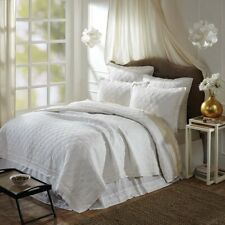 VHC Farmhouse Reversible Cotton Quilt Queen King Twin Blanket Bedspread 3 Color