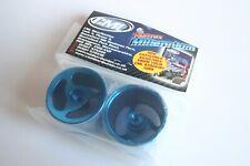 Fastrax / GPM Blue Aluminium Rear Wheels For Losi Mini-T - SMT0305R/LB
