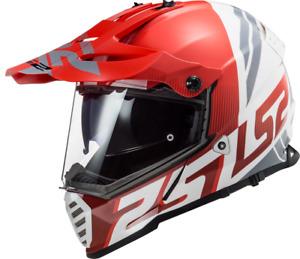 LS2 MX436 PIONEER Off Road Helm Motorcross mit Doppelvisier