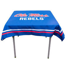 """University of Mississippi Rebels 48"""" Table Cloth Overlay"""