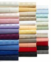 4 PCs Bedding Sheet Set 1000 TC Egyptian Cotton Multi Colors US King
