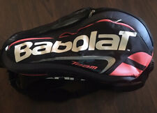 Babolat Tennis Bag Black And White 3 Compartments, Shoe Isothermal Compartments