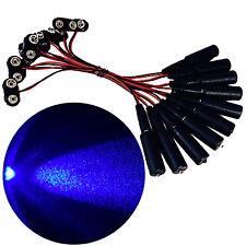 10 pcs blue LED effects lights 9V micro spot props scenery theatrical MELB9V10P