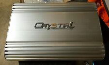 Old School Crystal Mobile Sound Cam110.4 4 channel Amplifier,RARE,Vintage,SQ