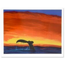 "Wyland ""Sounding Seas"" Signed Limited Edition Art; COA"