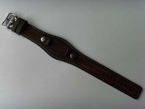 Fossil Original Spare Leather Strap JR8130 Watch Band Braun Brown 0 11/32in