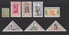 Some stamps of Dahomey
