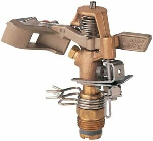 Rain Bird 25PJDAC Brass Impact Sprinkler Adjustable 20° - 360° Pattern, 20 - 41'