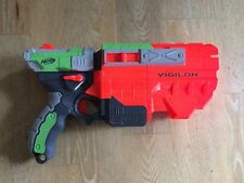 NERF GUN VORTEX VIGILON BLASTER WITH 3 DISC BULLETS