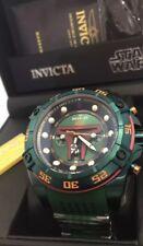 Invicta Star Wars Boba Fett: 52mm Limited Edition Quartz Chronograph Brand New