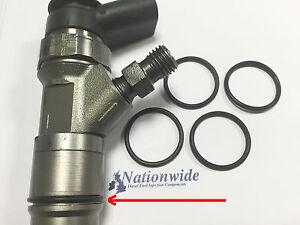 BMW 320 Common Rail Diesel Injector Body O Ring Bosch x 4