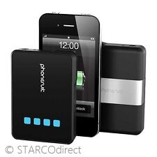 PhoneSuit Power Core 3500 mAh Battery Pack for Smartphones & Tablets, Black