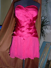 Saucy pink party dress