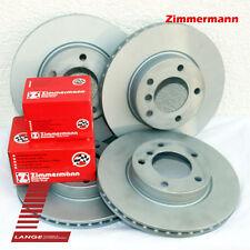 Zimmermann Brake Discs & PADS ALFA ROMEO 159 BRERA SPIDER 12.01in Front 10 15/
