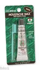 Clubman Pinuad Moustache Wax w/applicator comb 1 - 0.5 oz.( BROWN )