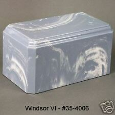 WEDGEWOOD BLUE MARBLE-FUNERAL URN-CREMATION-URNS