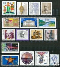 Bundespost partijtje postfrisse zegels uit 1992 (2)
