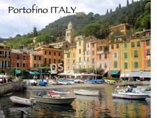 Italy - PORTOFINO - Travel Souvenir Flexible Fridge Magnet
