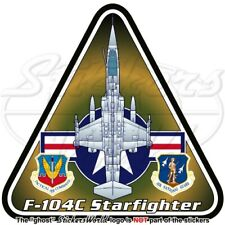 F-104 STARFIGHTER USAF Lockheed F-104C U.S. Aérienne ADC ANG Autocollant