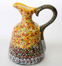 Handgefertigte Keramik orientalische schale Deko Cini unikat  WASSERKRUG